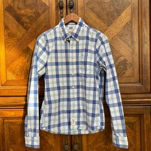 ABERCROMBIE & FITCH PLAID BUTTON DOWN SHIRT